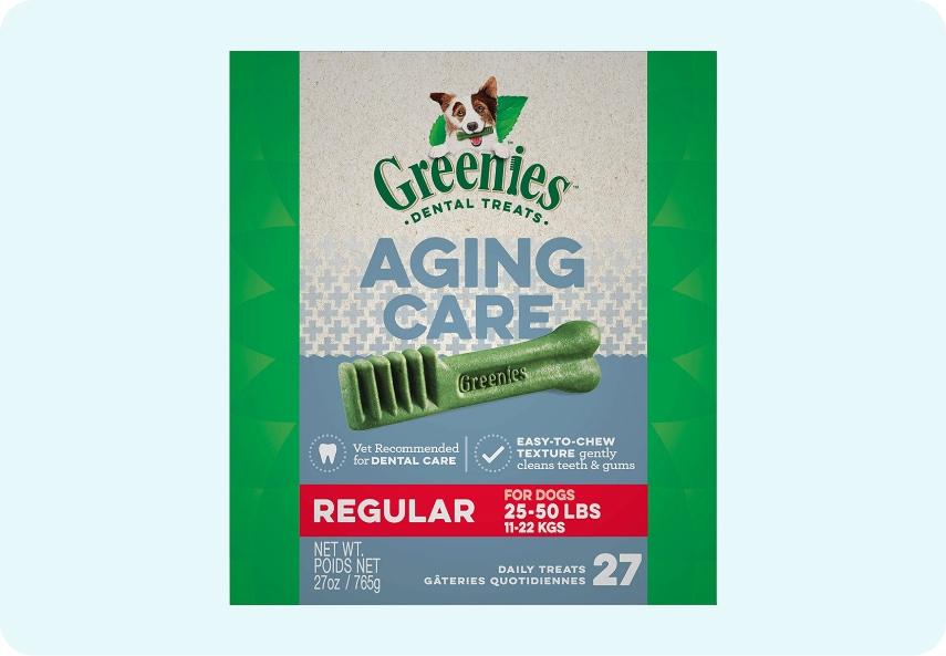 Senior Aging Care Natural Dental Dog Treats